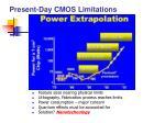 present day cmos limitations