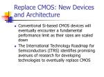 replace cmos new devices and architecture