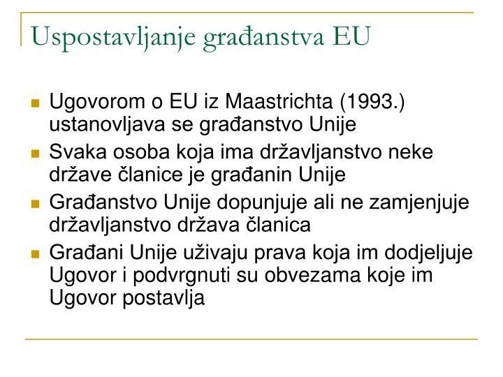 Uspostavljanje građanstva EU