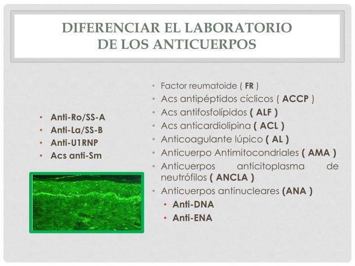 Diferenciar el laboratorio
