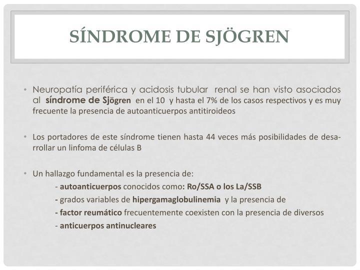 Síndrome de
