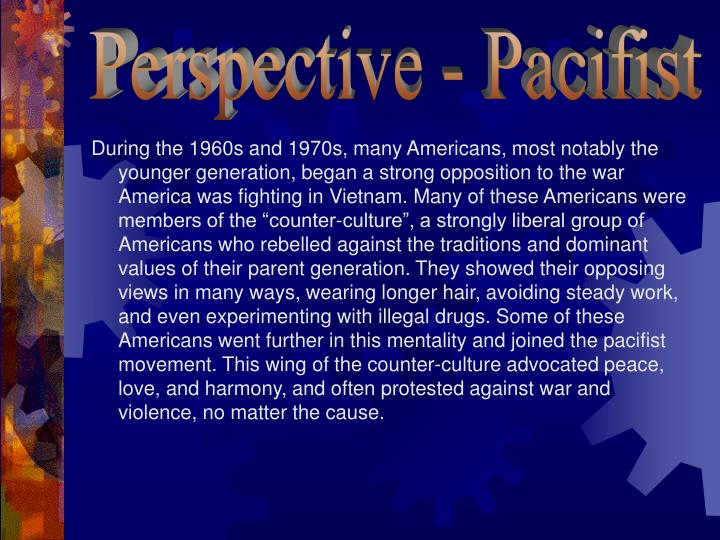Perspective - Pacifist