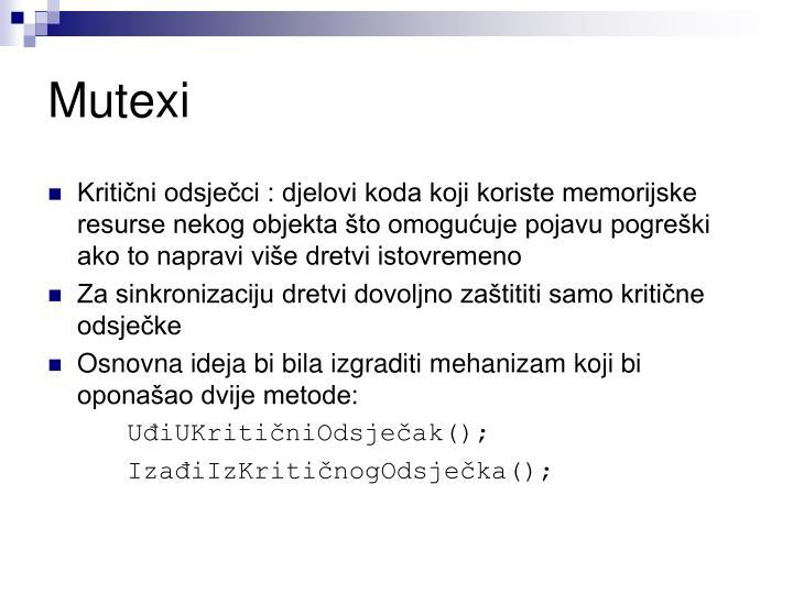 Mutexi