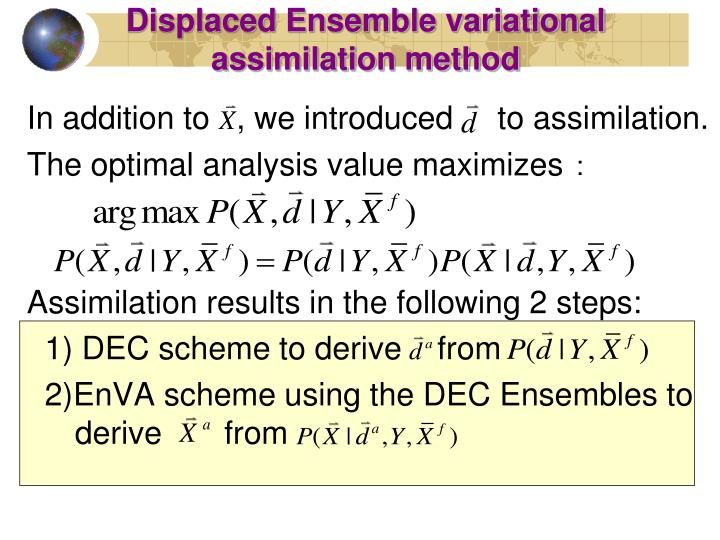 Displaced Ensemble variational