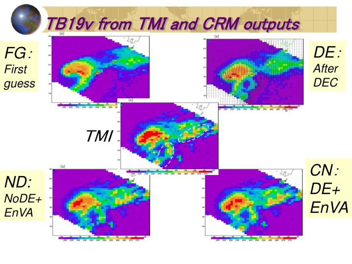 TB19v from TMI and CRM outputs