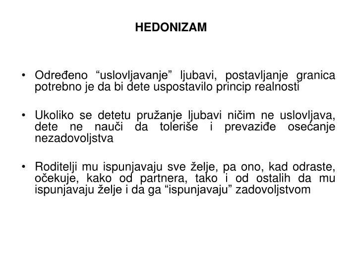 HEDONIZAM