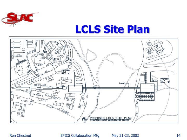 LCLS Site Plan