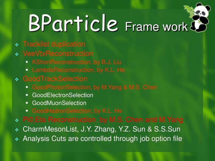 BParticle