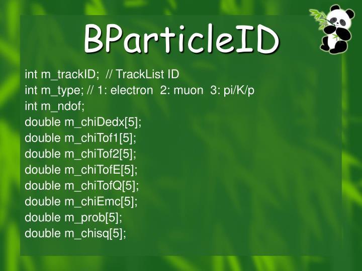 BParticleID