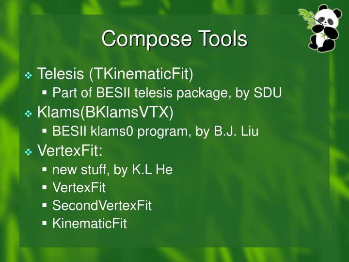 Compose tools