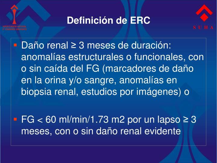 Definición de ERC