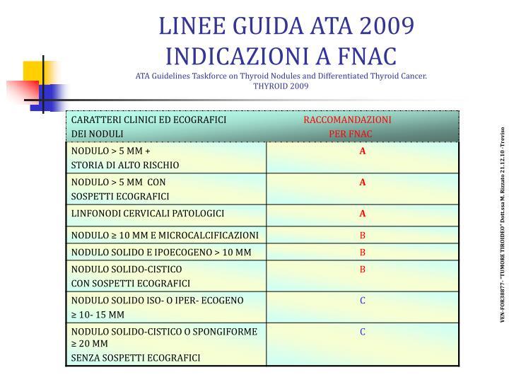 LINEE GUIDA ATA 2009