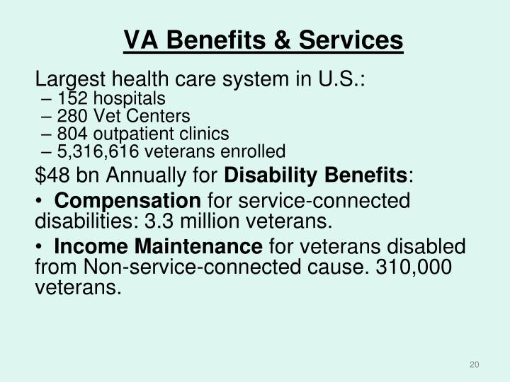 VA Benefits & Services