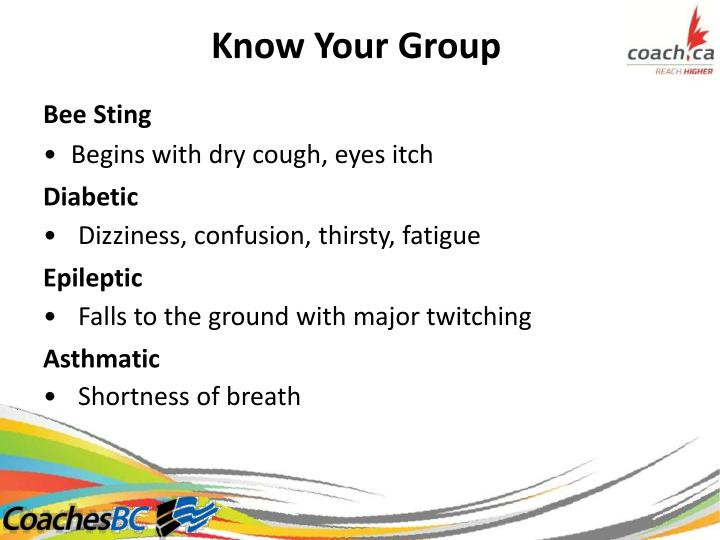 Know Your Group