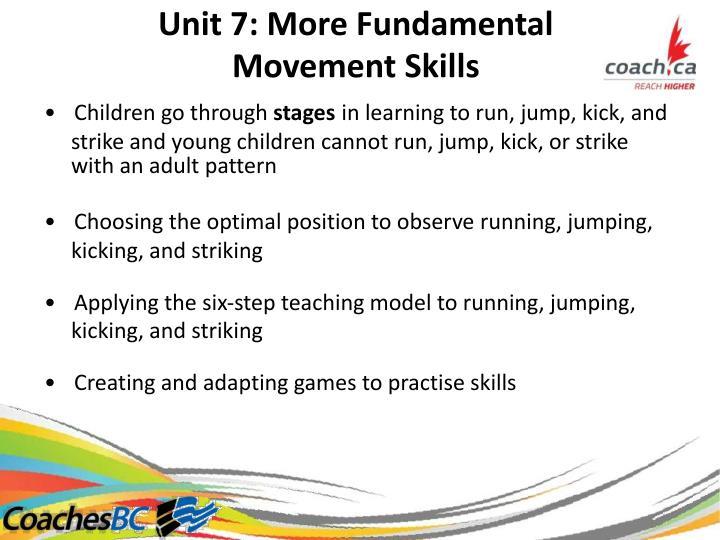 Unit7:MoreFundamental