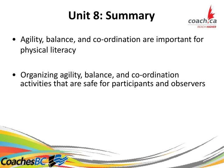 Unit8:Summary