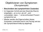 objektivieren von symptomen bungsbeispiel1