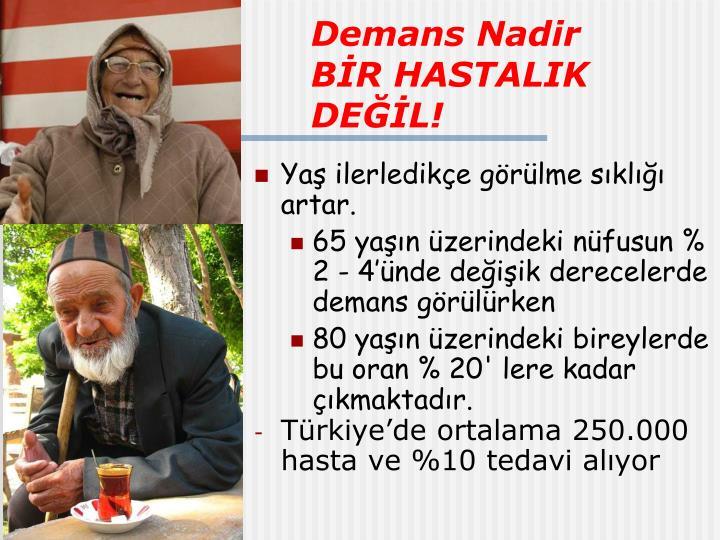 Demans Nadir