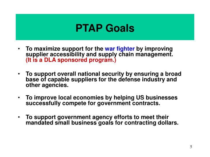PTAP Goals