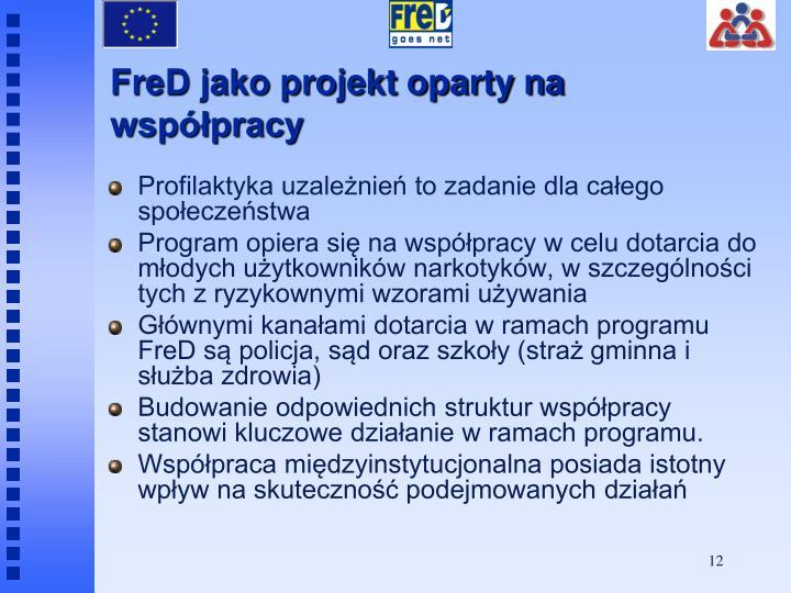 FreD jako projekt oparty na współpracy