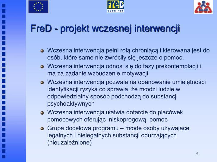 FreD - projekt wczesnej interwencji