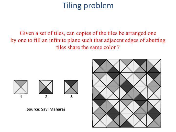 Tiling problem