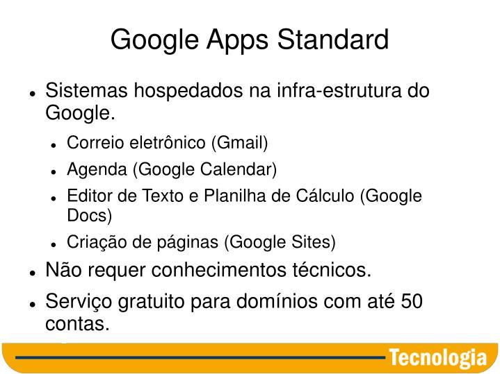 Google Apps Standard