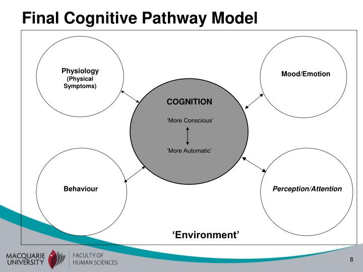 Final Cognitive Pathway Model