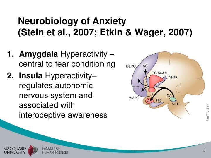 Neurobiology of Anxiety