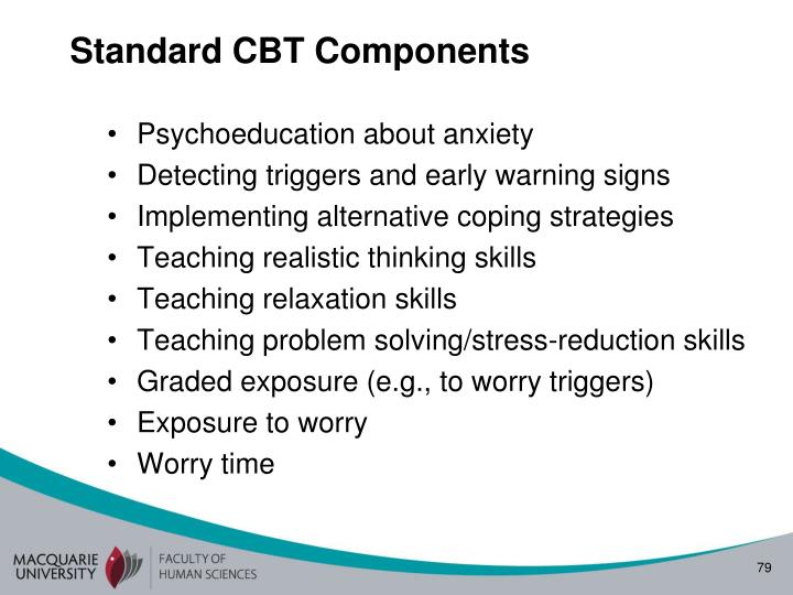 Standard CBT Components