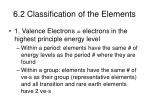 6 2 classification of the elements