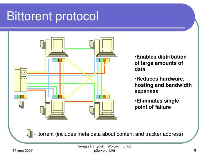 Bittorent protocol