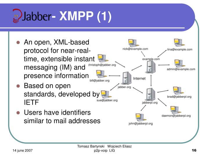 - XMPP (1)