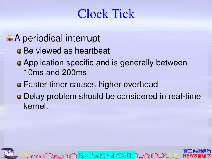 Clock Tick