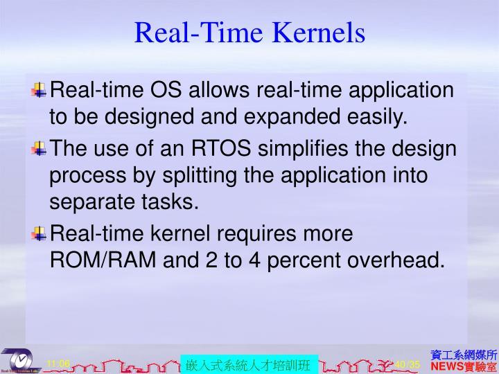 Real-Time Kernels