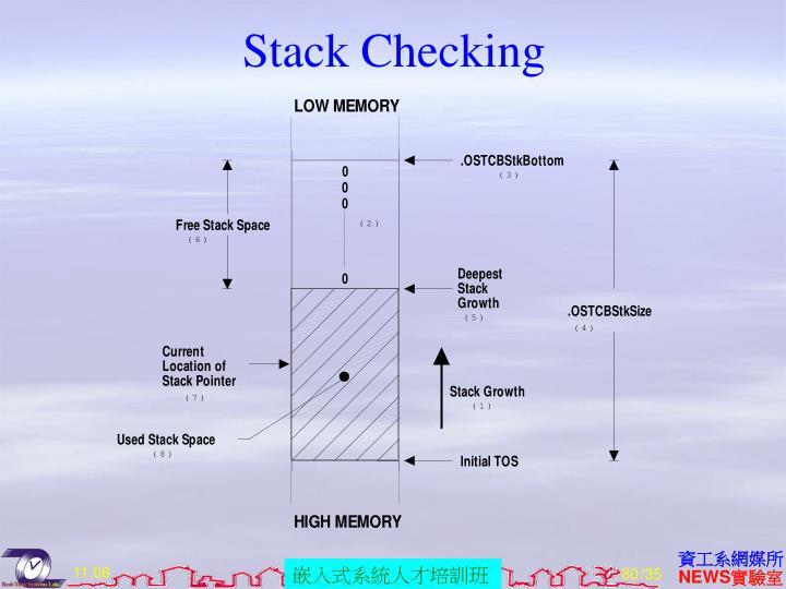 Stack Checking