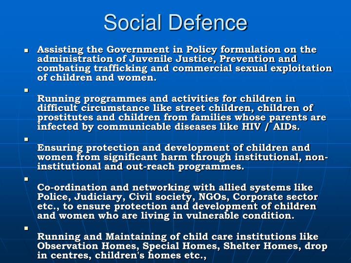 Social Defence