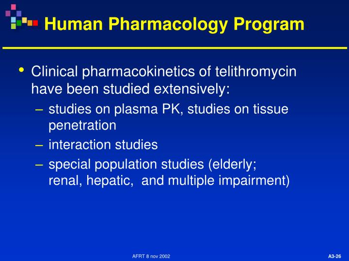 Human Pharmacology Program