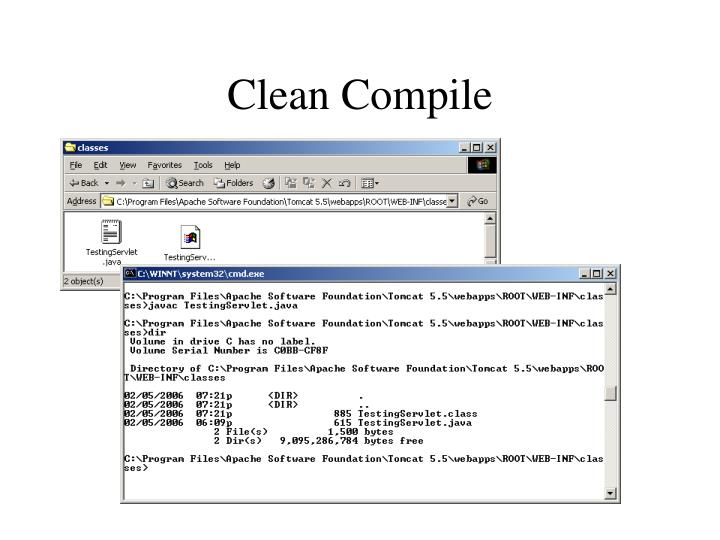 Clean Compile