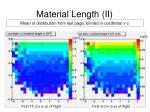 material length ii