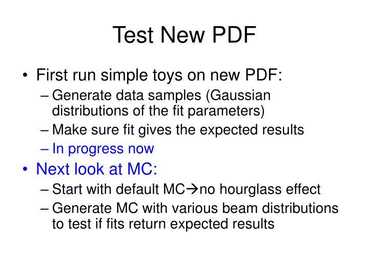 Test New PDF