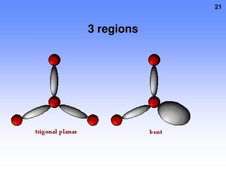 3 regions
