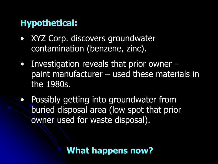 Hypothetical: