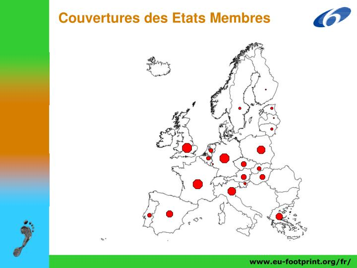 Couvertures des Etats Membres