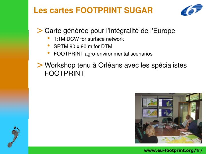 Les cartes FOOTPRINT SUGAR