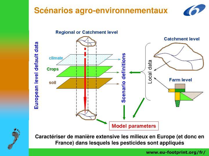 Scénarios agro-environnementaux