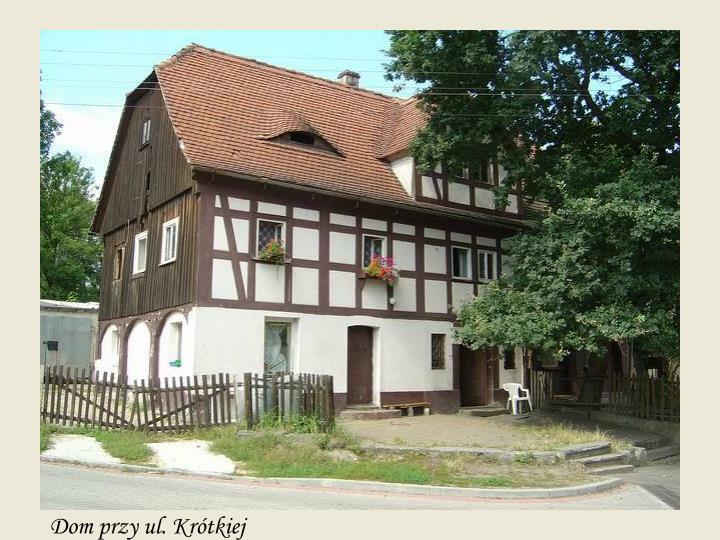 Dom przy ul. Krótkiej