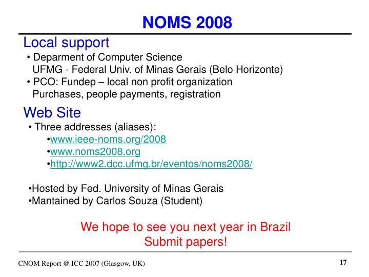 NOMS 2008
