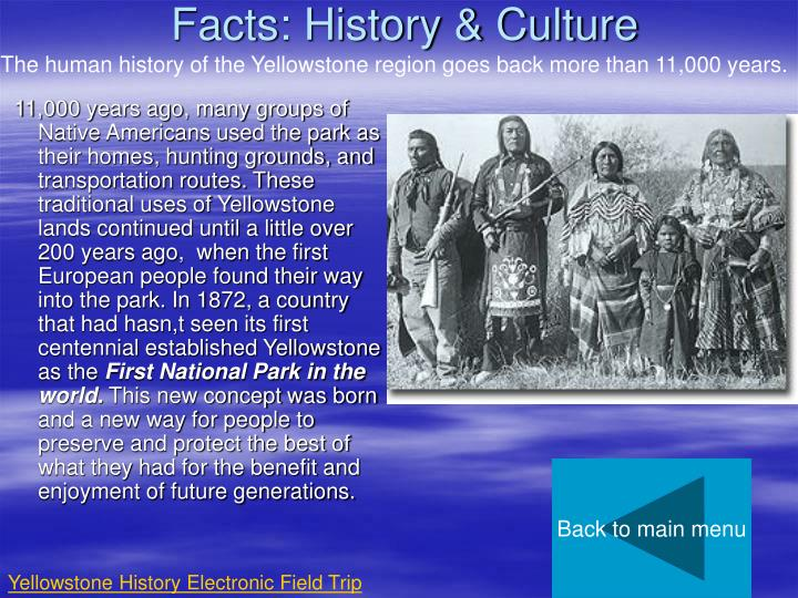 Facts: History & Culture