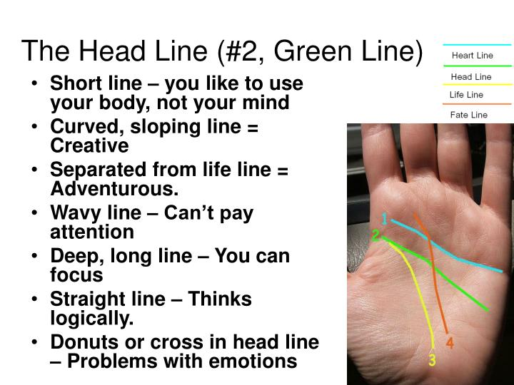 The Head Line (#2, Green Line)